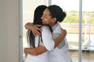 Patient caregiver in Brazil