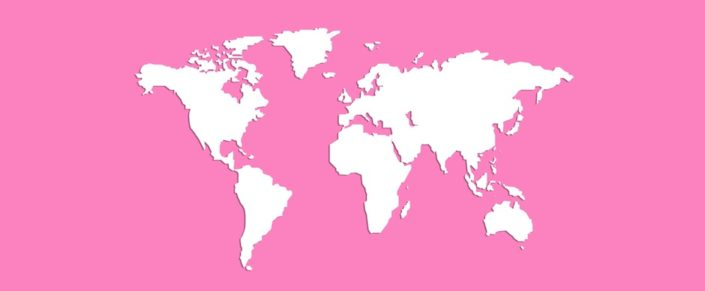 Breast Cancer Awareness Month Map