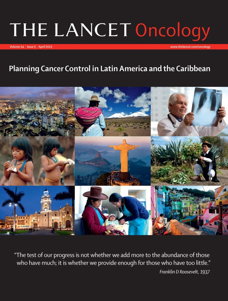 The Lancet Oncology April 2013 (Latin America and the Caribbean)