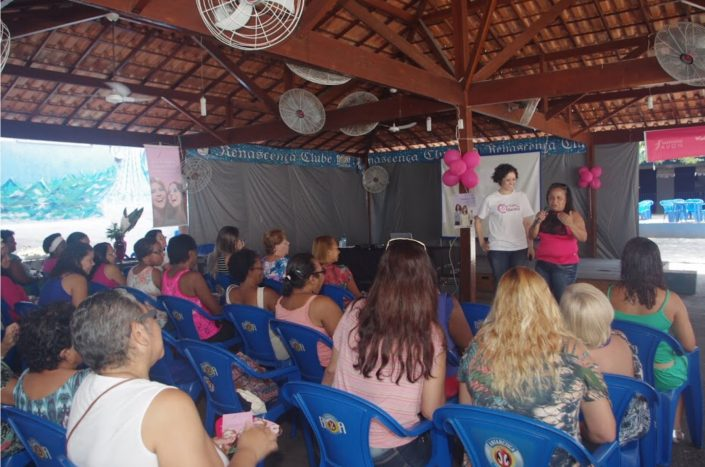 Breast Club meeting in Brazil